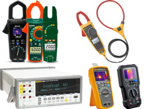 Multimeter Clamps & Electrical Testers