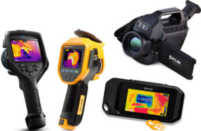 Camera Industrial IR & Corona UV