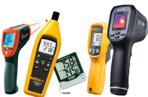 Thermometer & Humidity Testers : Contact & Non Contact