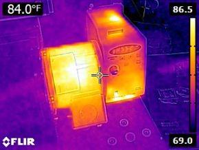 Infrared Visual Spot Camera