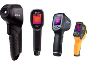 Visual Infrared Thermometers