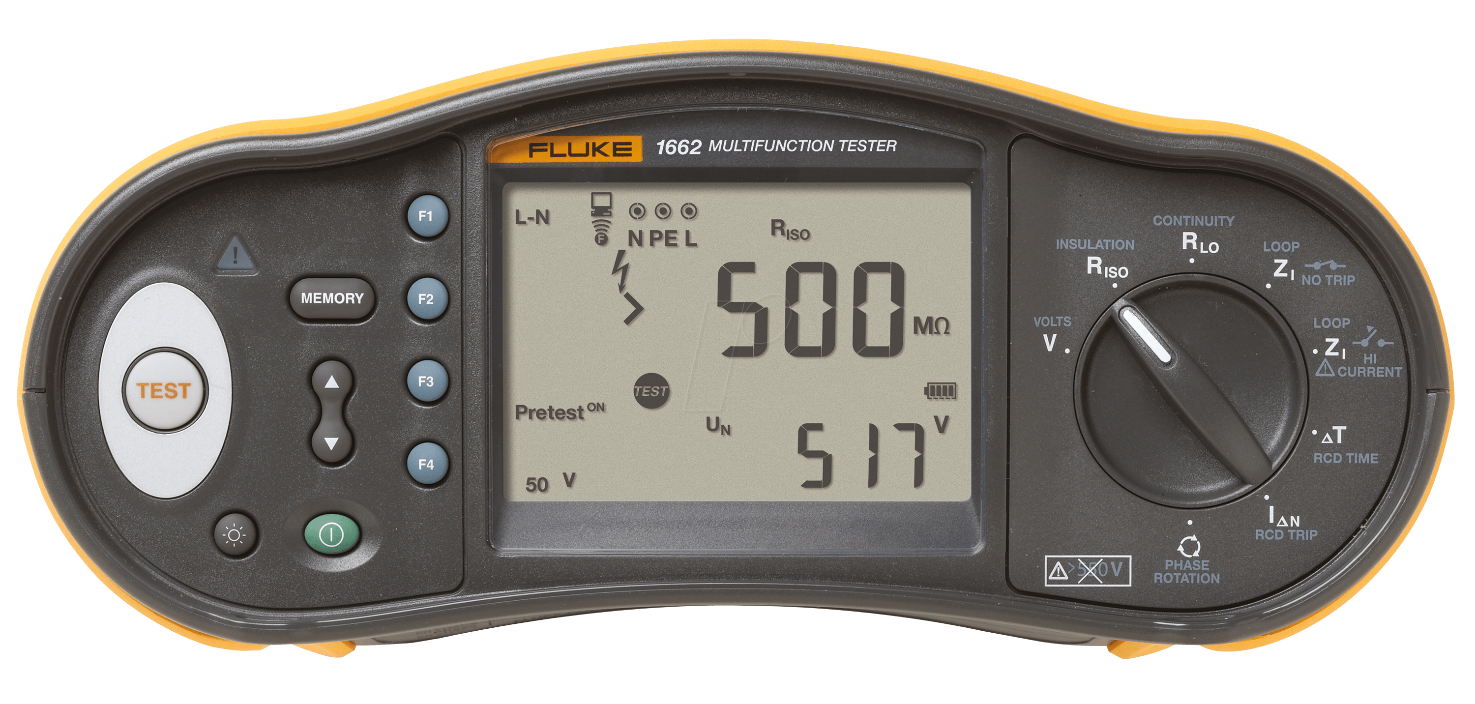 Electrical Tester For Shorts : Fluke multifunction installation tester cegroup