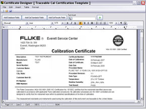 Electrical Calibration Software