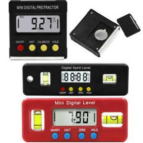 Digital Protractors & Level Meters